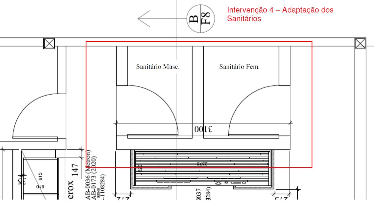 Proposta de acessibilidade em showroom de móveis: escritório modelo  #AA2121 1508 870