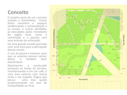 Projeto Parque Augusta FIAMFAAM Conceito escritório modelo