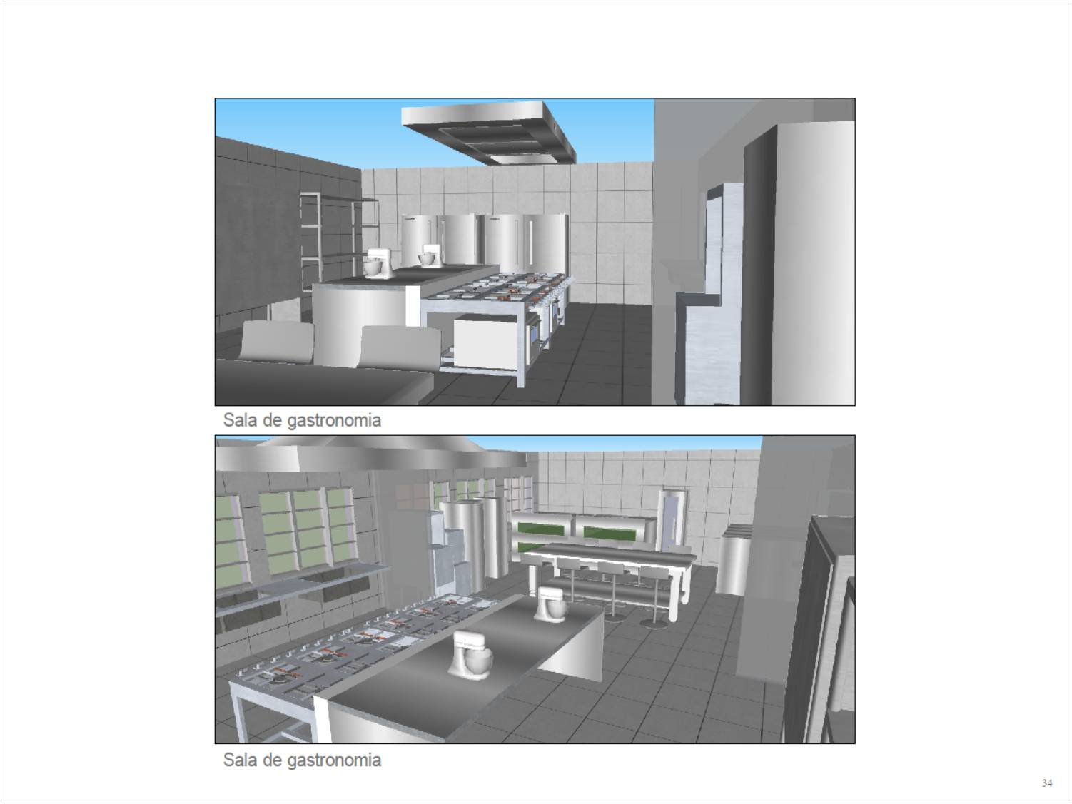#167AB5 Arquivo da tag: cozinha industrial 1502x1127 px Projeto De Arquitetura De Cozinha Industrial #2759 imagens