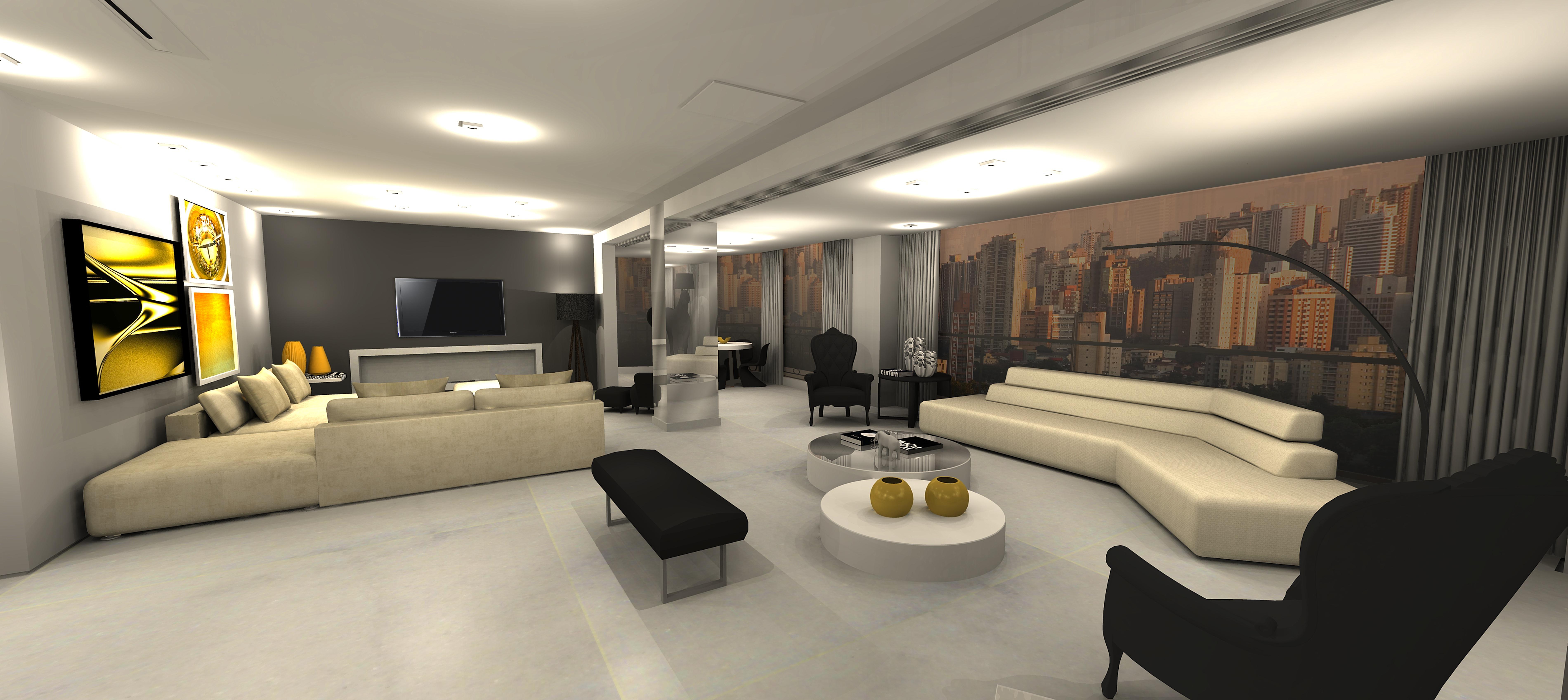 Revista Casa Projeto & Estilo: Luxo & Acessibilidade Helena Degreas #BC9D0F 7600 3392